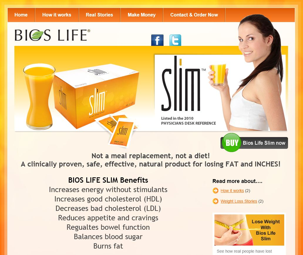 Bios Life Slim launched in NZ - how to lose weight