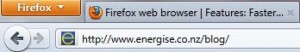 Firefox 4.0 address bar
