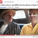 NZ Prime Minister John Key in youtube video to promote napier