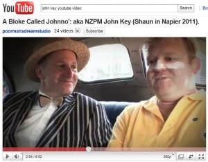 NZ Prime Minister John Key in youtube video to promote napier