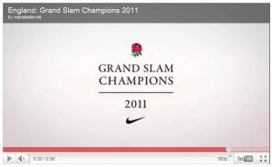 England Grand Slam Video