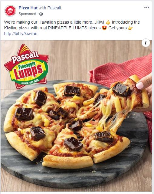 Pineapple Lump Pizza