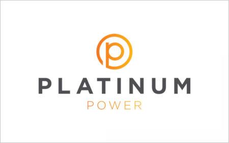 platinum power logo design