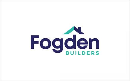 fogden builders logo design